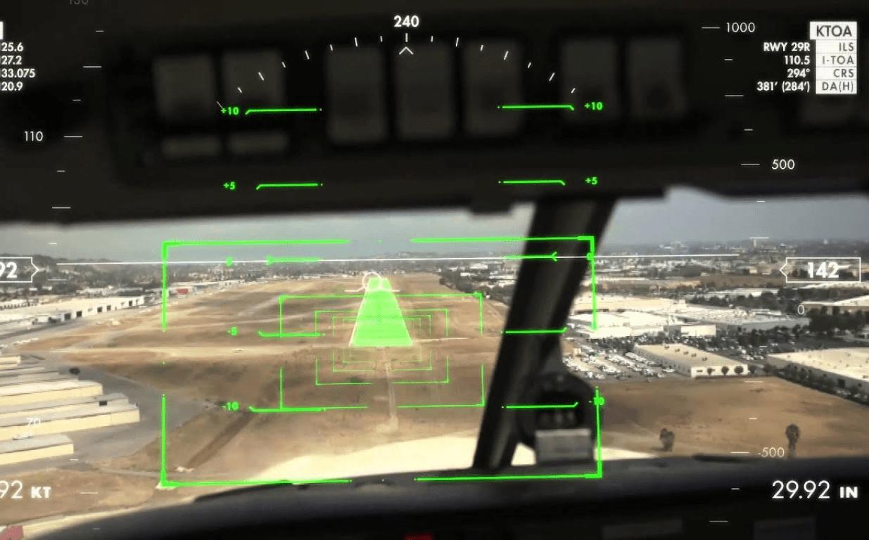 Дополненная реальность в истории авиации