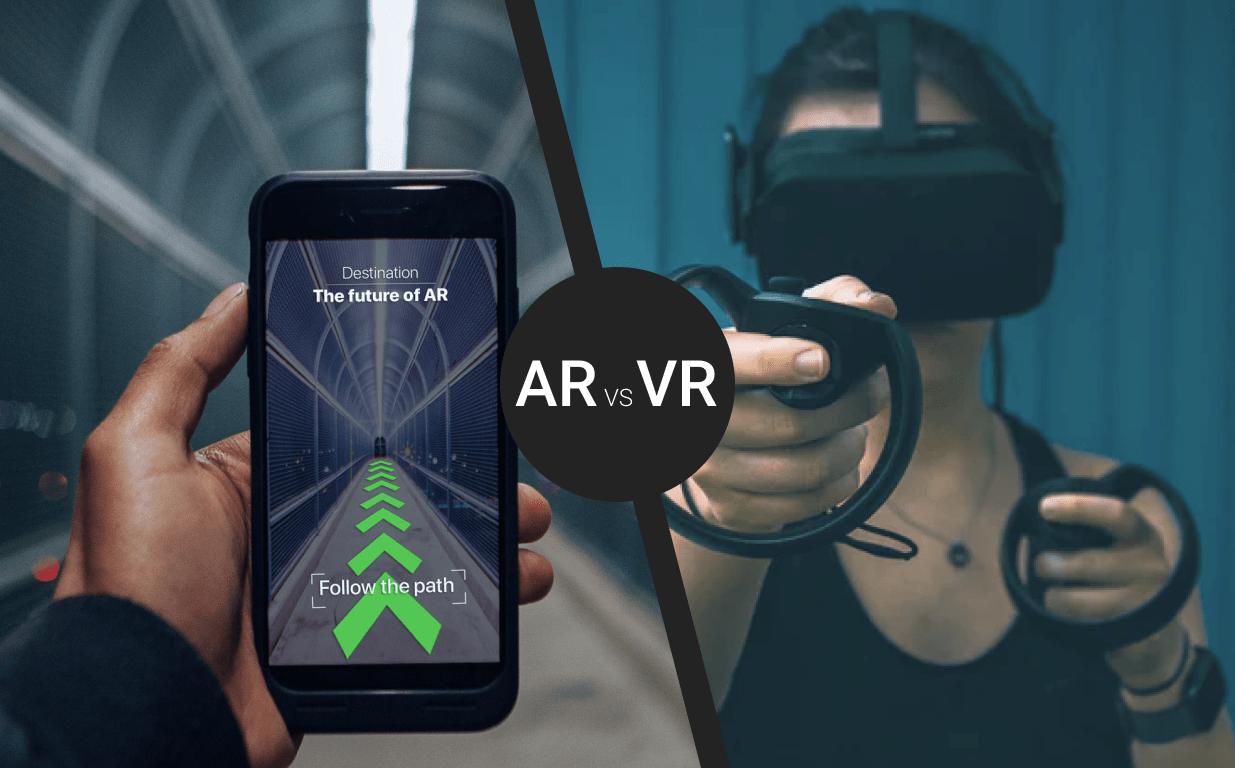 Отличие дополненной реальности от виртуальной реальности